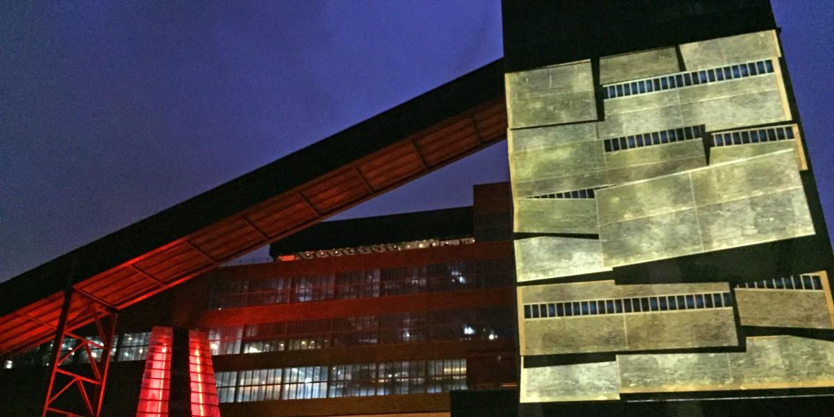 Auch Zehn nach Zehn touristischer Leuchtturm der Stadt: Das UNESCO-Welterbe Zollverein.