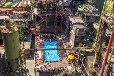 Das Werksschwimmbad auf der Kokerei Zollverein