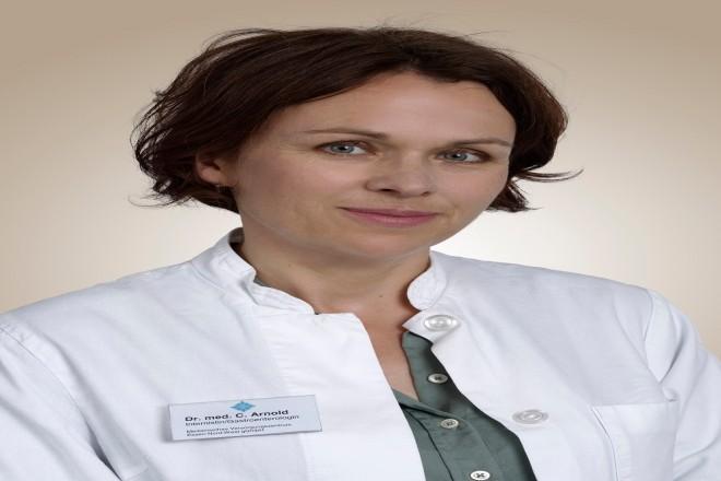 Foto: Dr. Christiane Arnold, Ärztliche Leiterin des Medizinischen Versorgungszentrums in Essen-Borbeck