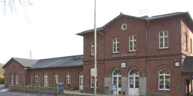 Foto: Außenansicht des Alten Bahnhof Kettwig