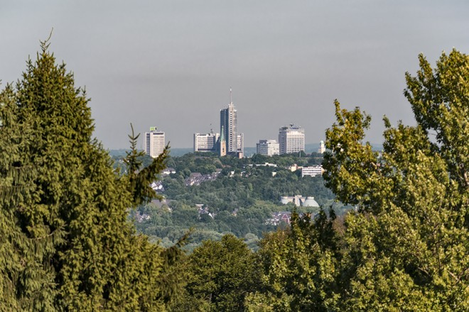 Panoramabild Byfanger Wasserturm