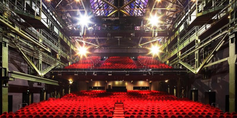 Blick in den Publikumssaal im Colosseum Theater Essen