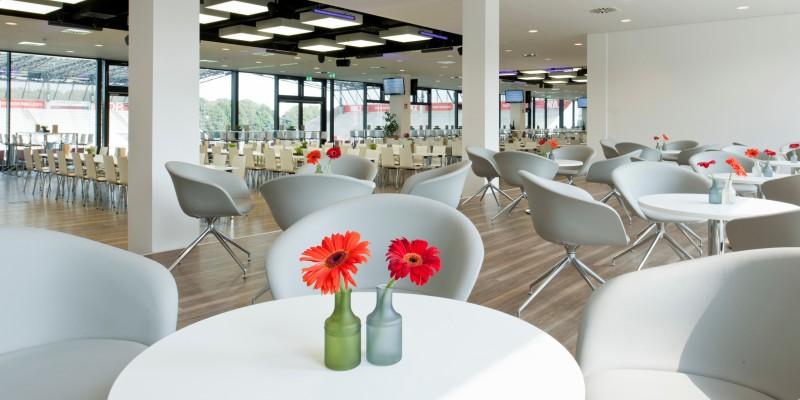 Foto: Gastronomiebereich im Stadion Essen
