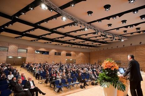 Blick in einen Konferenzraum im Congress Center Essen
