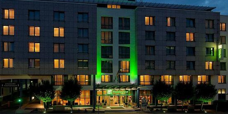 Foto: Aussenansicht Holiday Inn Essen City Centre