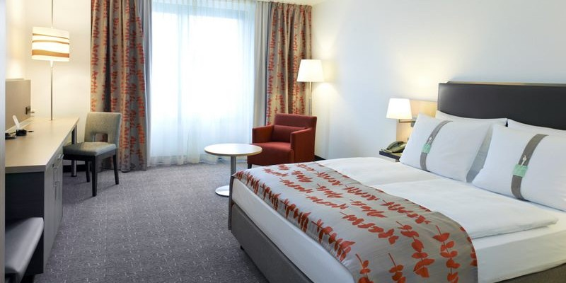 Foto: Zimmeransicht Holiday Inn Essen City Centre