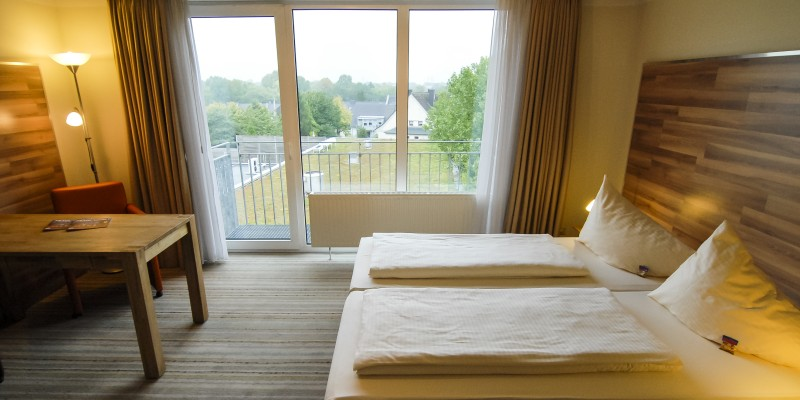 "Zimmeransicht im Petul Apart Hotel ""Am Stadtgarten"""