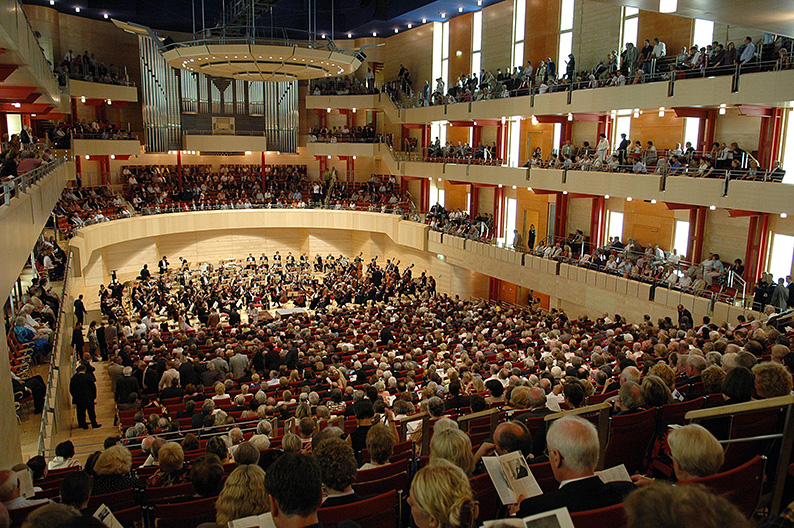 Foto: Philharmonie Essen während eines Konzertes