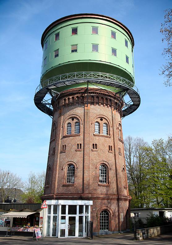 Foto: Wasserturm Laurentiusweg