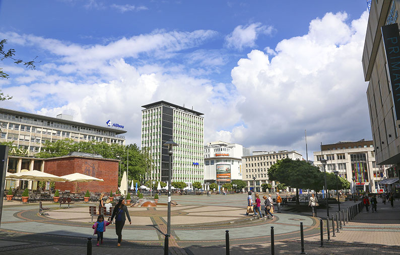 Foto: Kennedyplatz Essen
