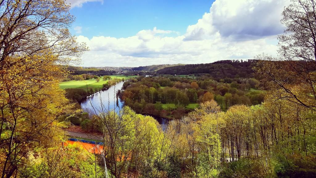 Aussicht Kettwiger Stadtwald