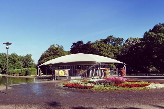 Eingang Grugapark Essen