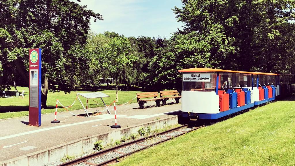 Grugabahn im Grugapark Essen