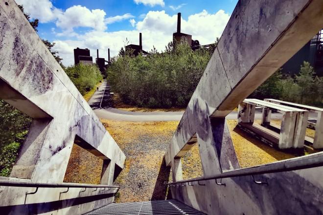 Treppenskulptur Zollverein