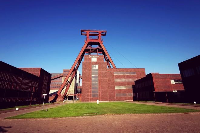 Doppelbock auf Zollverein