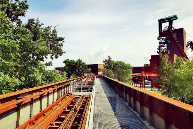 Brückentrasse auf Zollverein