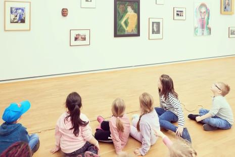 Kinderführung im Museum Folkwang