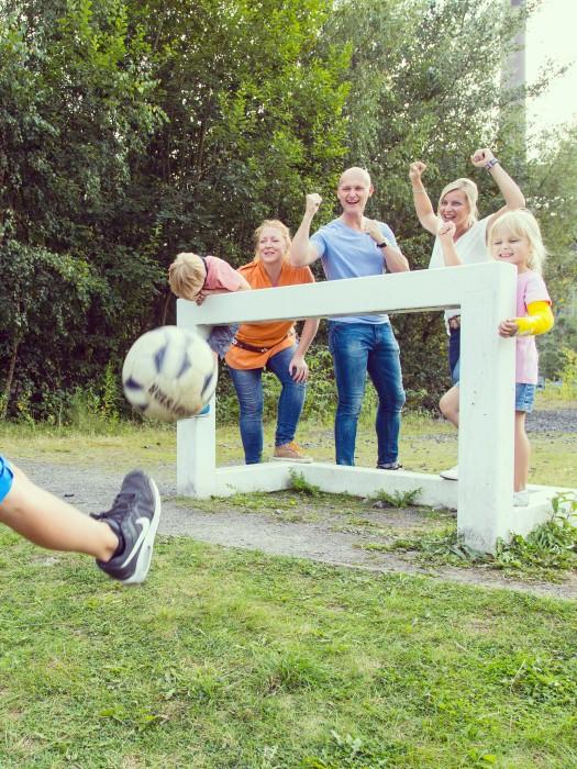 Soccergolf auf Zollverein