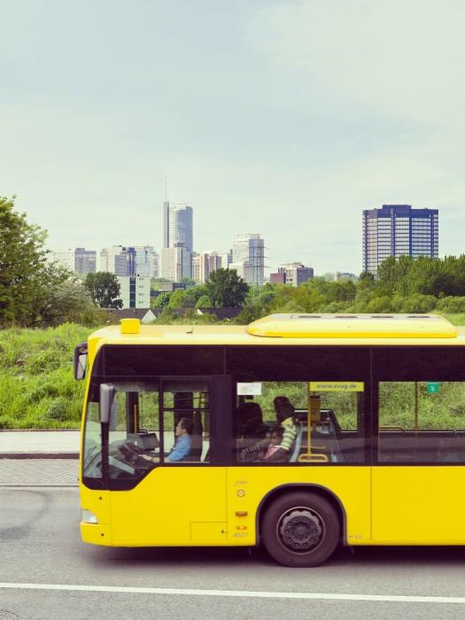 Mit dem Bus unterwegs