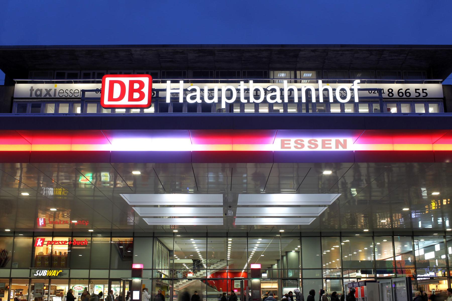 Eingang Essen-Hauptbahnhof