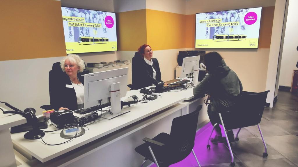 Tourist Info und Kundencenter der Ruhrbahn