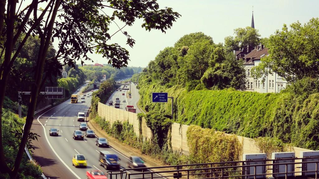 Autobahn Ausfahrt Essen-Kray