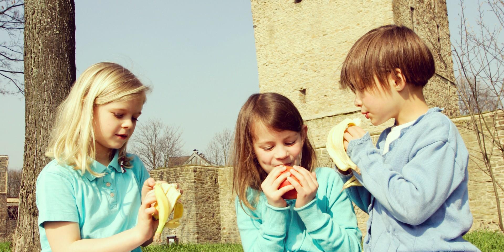 Picknick an der Burgruine Burg Altendorf