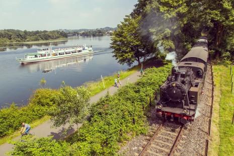 Hespertalbahn am Baldeneysee