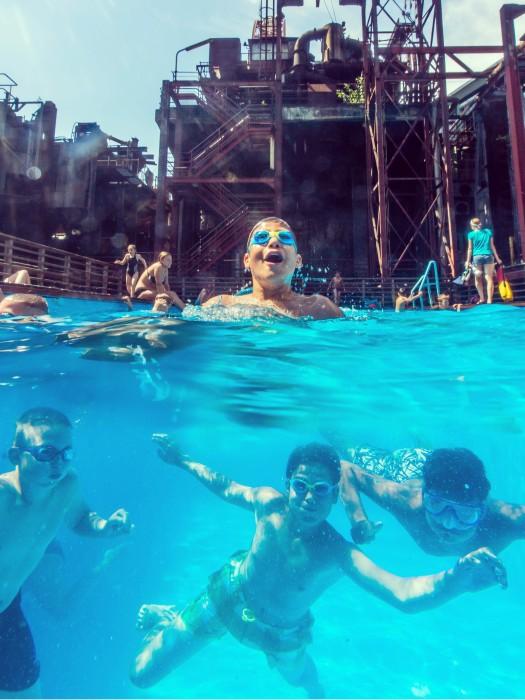 Werksschwimmbad auf Zollverein