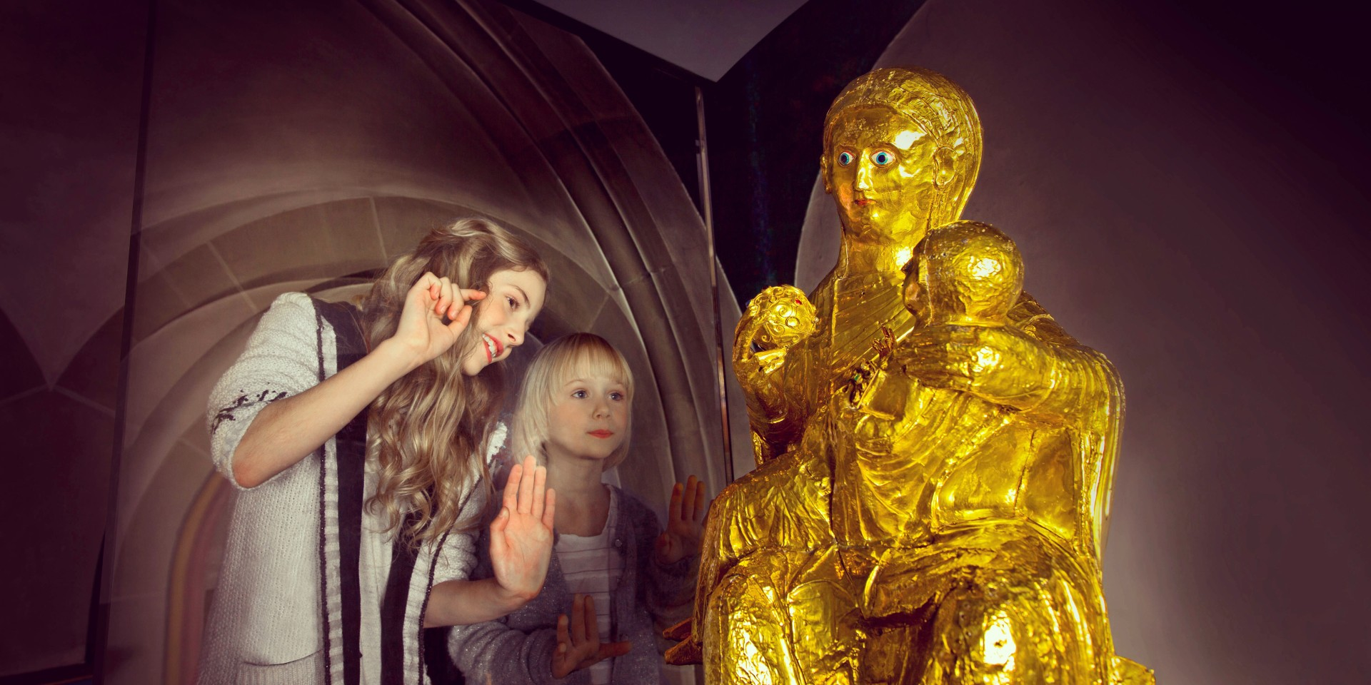 Goldene Madonna
