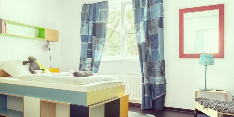 Einzelzimmer im Hostel am Niederfeldsee