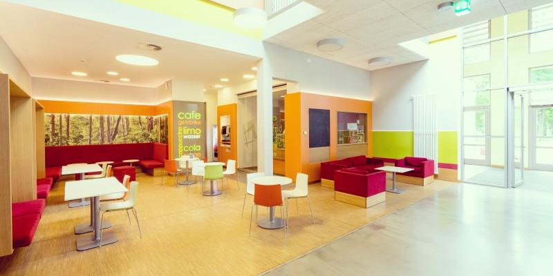 Caféteria des Jugendhauses Altfrid