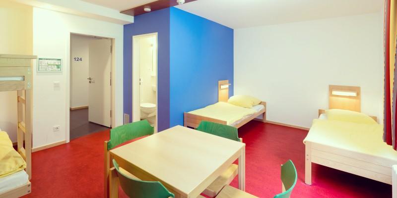 Zimmer des Jugendhauses Altfrid