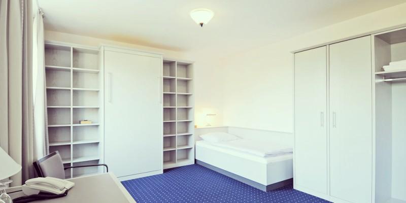 Einzelzimmer im Kardinal-Hengsbach-Haus
