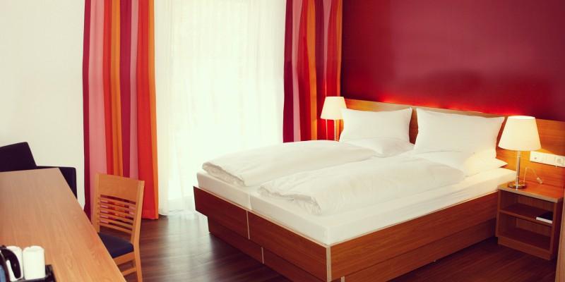 Zimmer im Hotel Franz