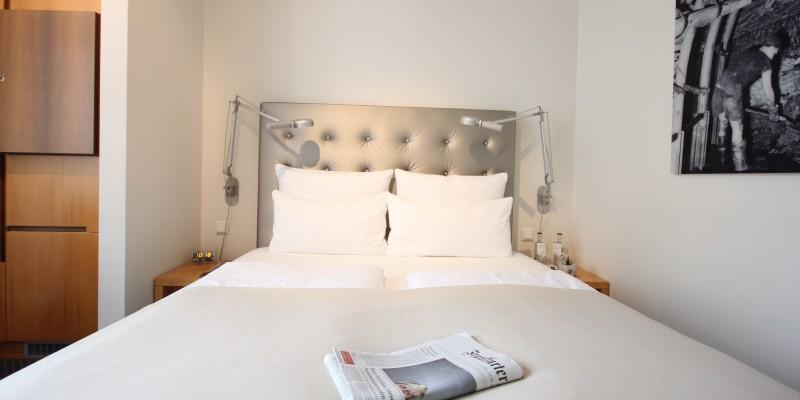 Foto: Zimmeransicht Hotel Maximilians