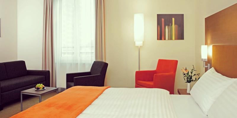 Foto: Doppelzimmer im InterCityHotel Essen