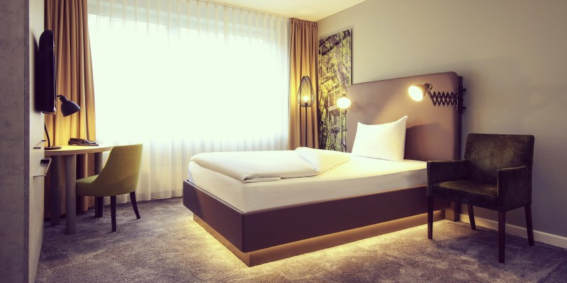 Foto: Doppelzimmer des Mercure Hotel Plaza Essen