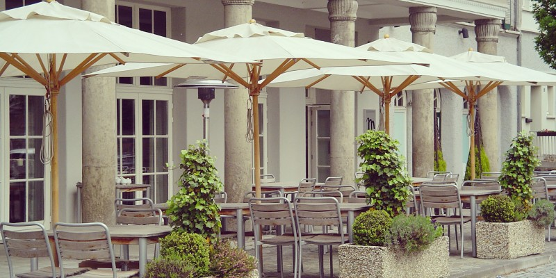 Foto: Außenbereich des Mintrops Stadt Hotel Margarethenhöhe
