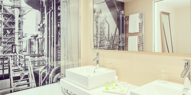 Bathroom in the NH Essen
