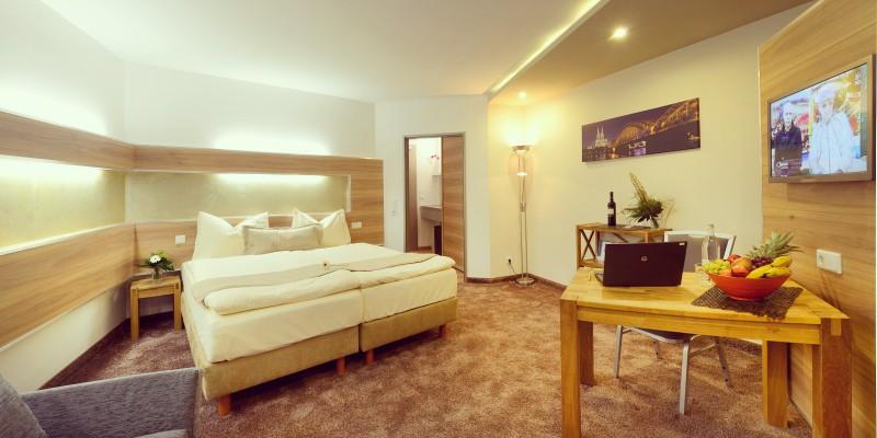 """Zimmeransicht im Petul Apart Hotel """"City Premium"""""""
