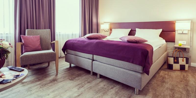 Komfort-Doppelzimmer im Hotel Sengelmannshof