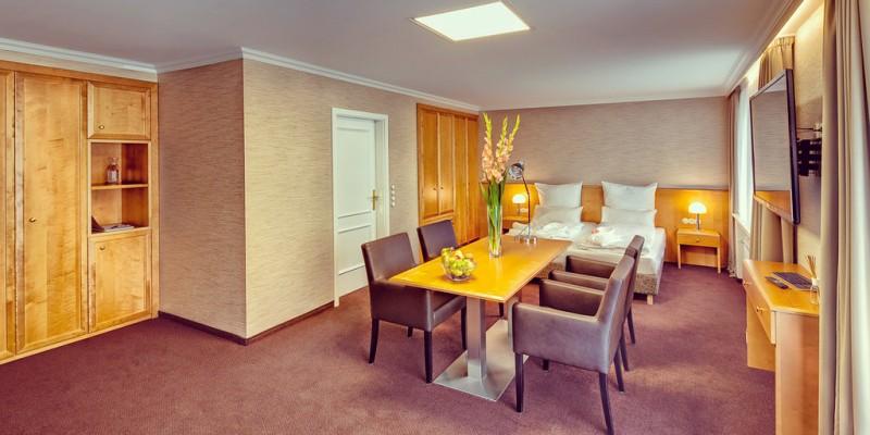 Foto: Doppelzimmer des Unperfekthotel