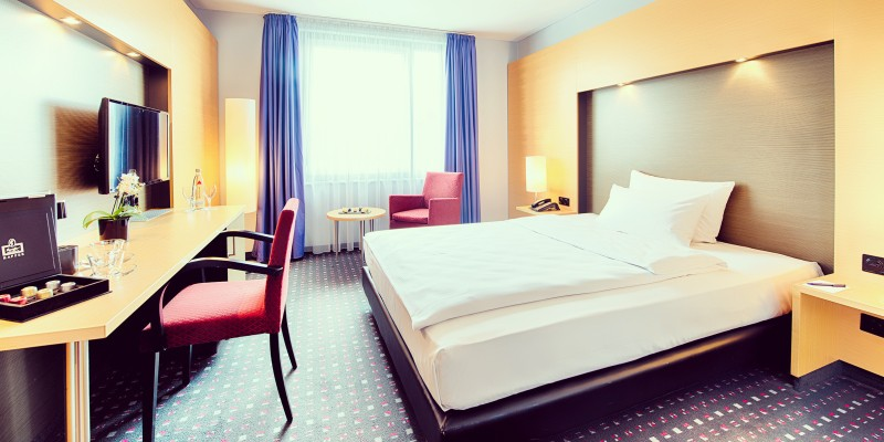 Single room in the Welcome Hotel Essen