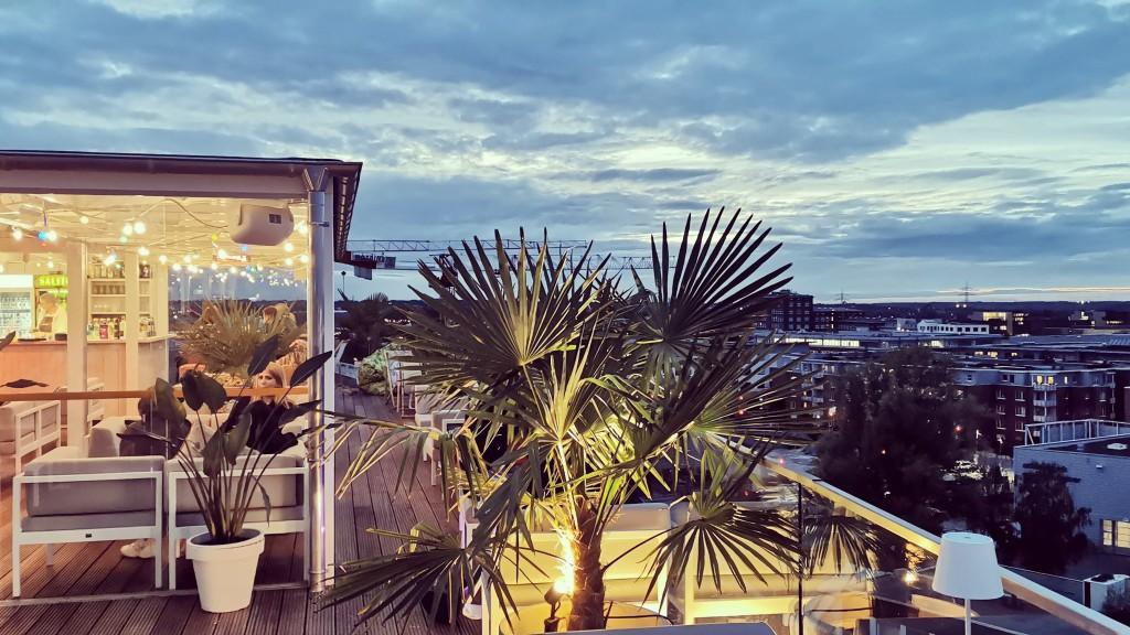 Rooftop-Lounge des Lil'Tiger