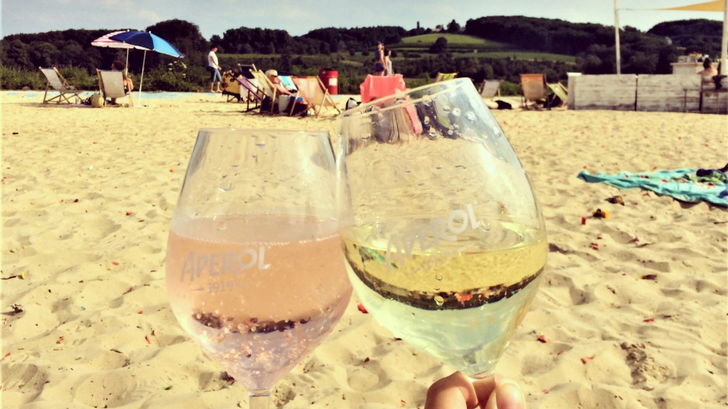 Drink am Seaside Beach Baldeney