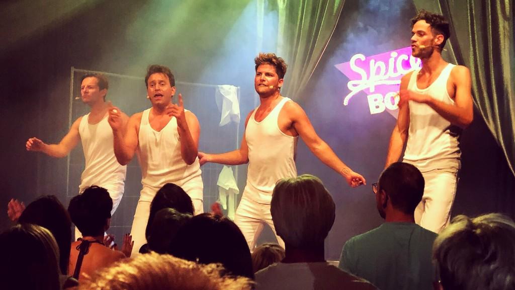 Spice Boys im Stratmanns Theater