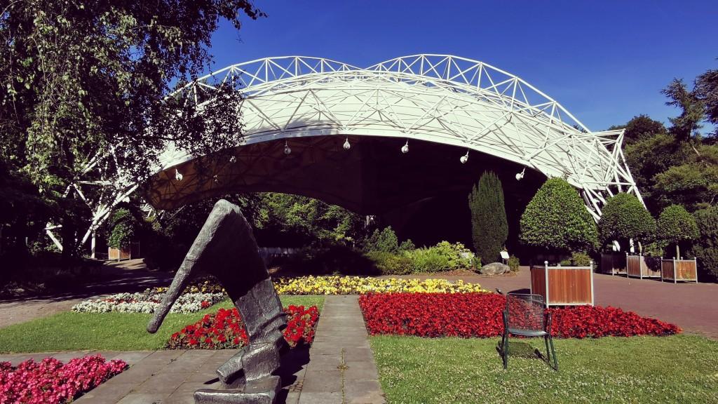 Music-pavillon in the Grugapark