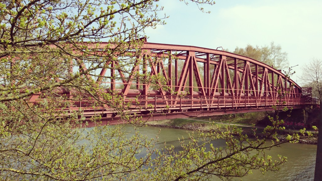 Brücke über den Rhein-Herne-Kanal
