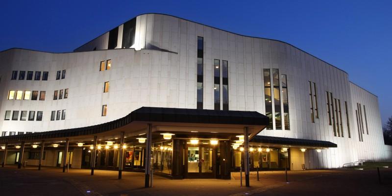 Aussenansicht Aalto-Theater